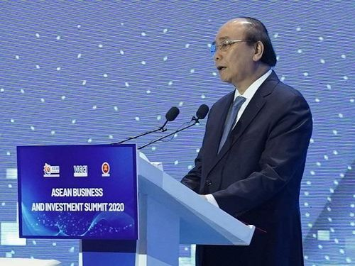 Khai mạc Hội nghị Thượng đỉnh về Kinh doanh và Đầu tư ASEAN 2020