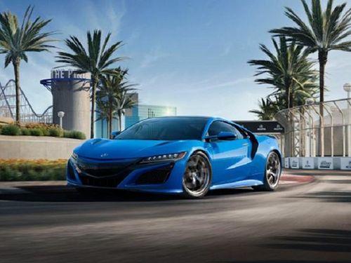 Ngắm Acura NSX 2021 sơn Long Beach Blue Pearl hơn 4 tỷ đồng