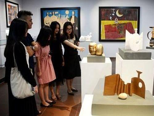 Ra mắt không gian trưng bày các tác phẩm của nghệ sĩ tạo hình Lê Công Thành