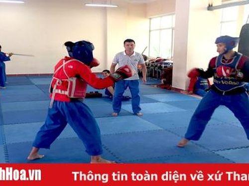 Vovinam Thanh Hóa sẵn sàng tranh vé tới SEA Games 31