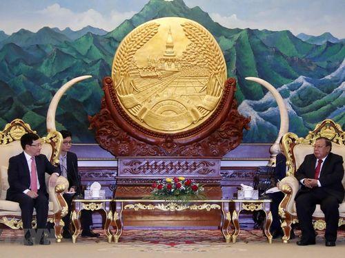 Tiếp tục tăng cường quan hệ Việt Nam – Lào