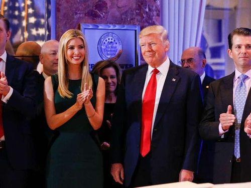 New York Times: Ông Trump bàn kế hoạch ân xá cho các con