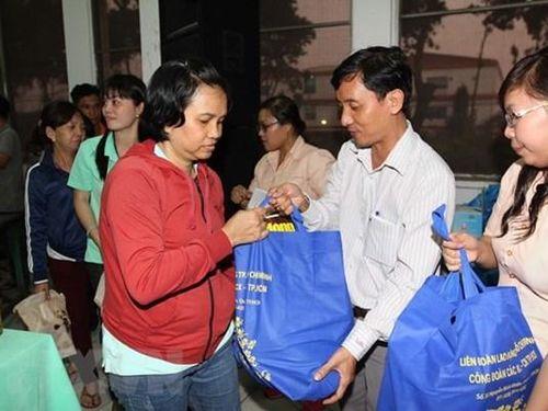 Nhiều hoạt động chăm lo người lao động dịp Tết Tân Sửu năm 2021