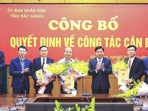 Sở LĐ-TB&XH Bắc Giang có giám đốc mới