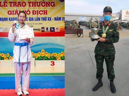Hai chiến binh đặc biệt trên đấu trường quốc tế