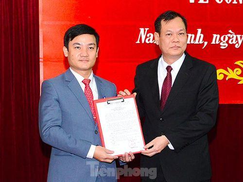Bổ nhiệm Chánh Văn phòng Tỉnh ủy Nam Định
