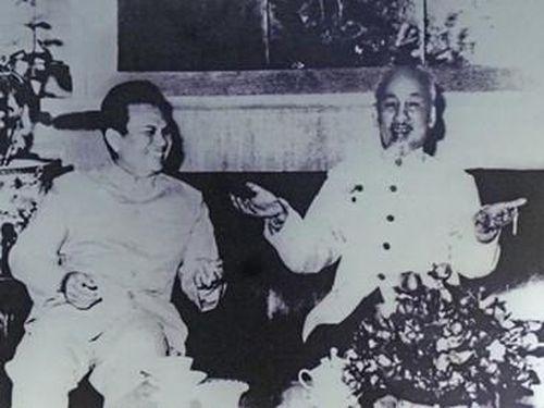 Nhà lãnh đạo bản lĩnh, trí tuệ của cách mạng Lào, người bạn lớn của nhân dân Việt Nam