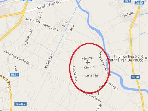 Thông tin về dự án làng đại học ở Bình Chánh 'treo' nhiều năm