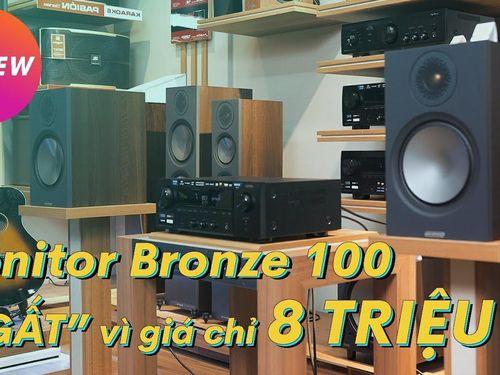 Monitor Bronze 100 và Denon DRA-800H - Dàn Hifi Network 25 triệu, 'full' tính năng, tiếng cực tốt
