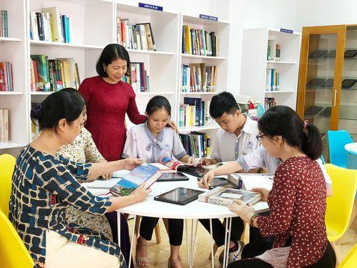 Độc đáo thư viện số đầu tiên trong trường học
