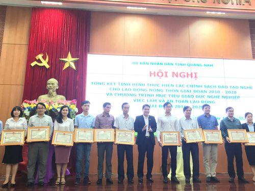 Quảng Nam: Đào tạo nghề cho hơn 54 nghìn lao động nông thôn