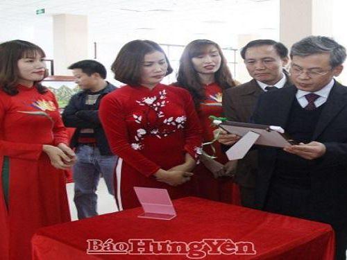 Trao giải cuộc thi Thiết kế sản phẩm lưu niệm, quà tặng du lịch tỉnh Hưng Yên