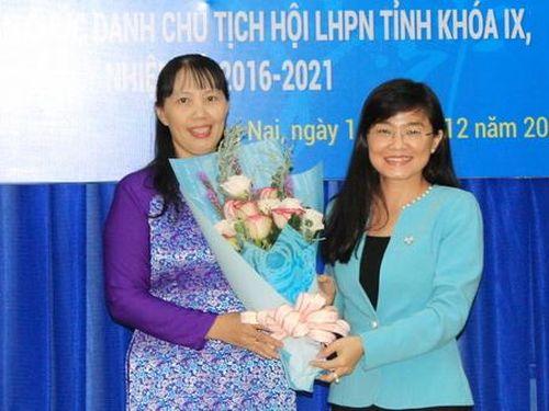 Bà Lê Thị Thái được bầu giữ chức Chủ tịch Hội LHPN tỉnh