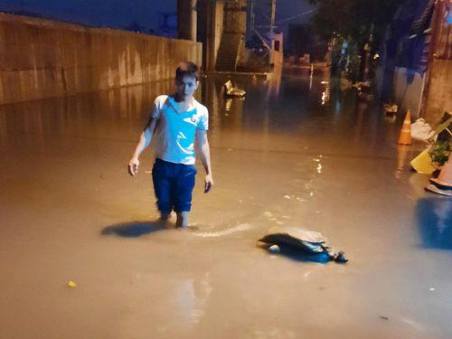 Khu dân cư ở TP.HCM ngập hơn 1 tháng