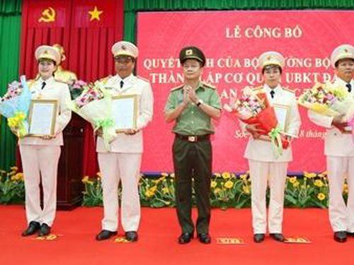 Thành lập Cơ quan Ủy ban kiểm tra Đảng ủy Công an tỉnh Sóc Trăng