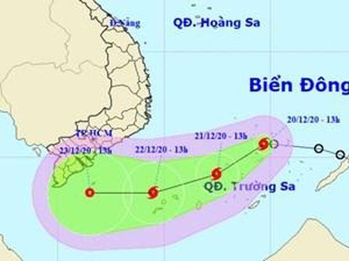 Áp thấp nhiệt đới trên Biển Đông đã mạnh lên thành bão