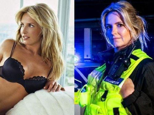 Cựu người mẫu nội y sắp trở thành cảnh sát