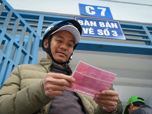 Trận giao hữu của đội tuyển Việt Nam không sốt vé