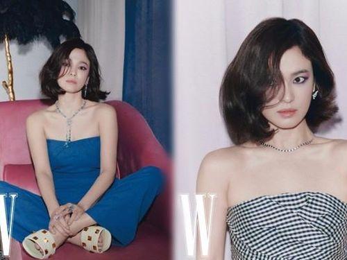 Song Hye Kyo xinh đẹp gợi cảm xuất thần, trải lòng về tình yêu hậu ly hôn