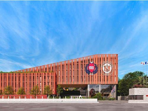 Tập đoàn Nguyễn Hoàng làm lễ cất nóc Campus chuẩn quốc tế đầu tiên tại Đồng Nai