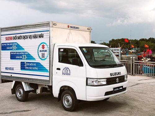 'Vua xe tải nhẹ' Suzuki: nhỏ gọn, hiệu quả giờ cao điểm
