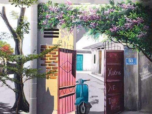Bắc Ninh: Tranh tường lên ngôi