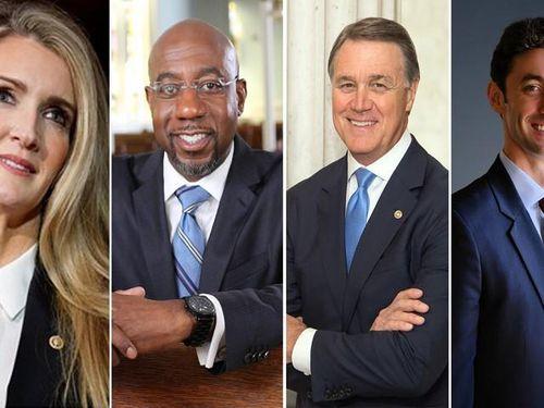 Bốn ứng viên trong cuộc bầu cử thượng viện vòng hai bang Georgia