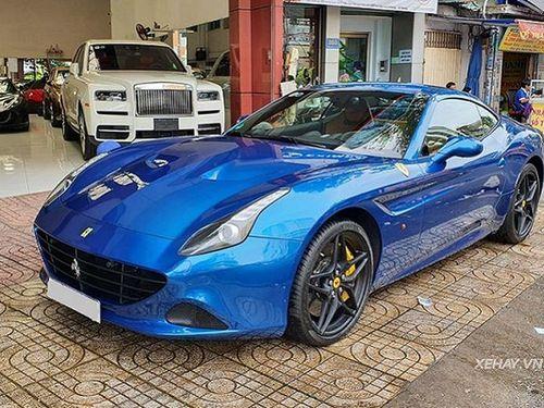 Ferrari California T của ông Đặng Lê Nguyên Vũ 'tái xuất' ở Sài Gòn