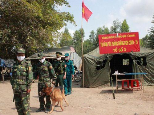 Vùng Tây Nam siết chặt tuyến biên giới phòng chống dịch COVID-19