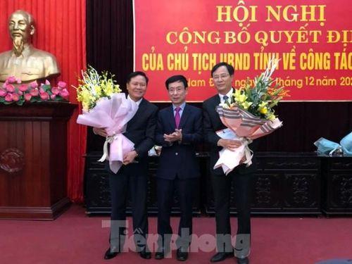 Nam Định, Ninh Bình bổ nhiệm lãnh đạo Sở