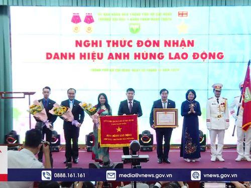 ĐH Y khoa Phạm Ngọc Thạch đón nhận danh hiệu AHLĐ