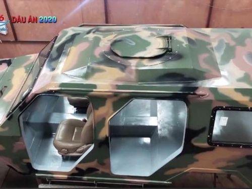 Mẫu xe thiết giáp vận tải hạng nhẹ do Việt Nam tự chế tạo