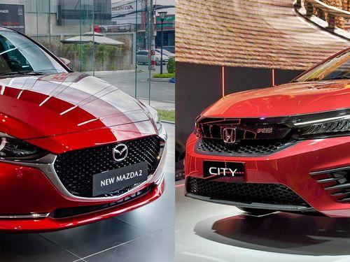 Mua sedan hạng B tầm giá 600 triệu đồng, chọn Mazda2 hay Honda City?