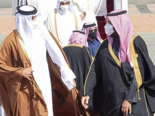 Quốc vương Qatar đến Saudi Arabia dự Hội nghị thượng đỉnh GCC