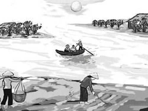 Tháng Chạp sông kể chuyện làng
