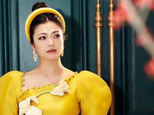 Diễn viên Kiều Anh 'biến hóa' khi làm người mẫu áo dài