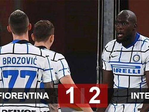 Kết quả Fiorentina 1-2 Inter: Lukaku sắm vai người hùng, Inter vào vòng tứ kết cúp quốc gia Italia
