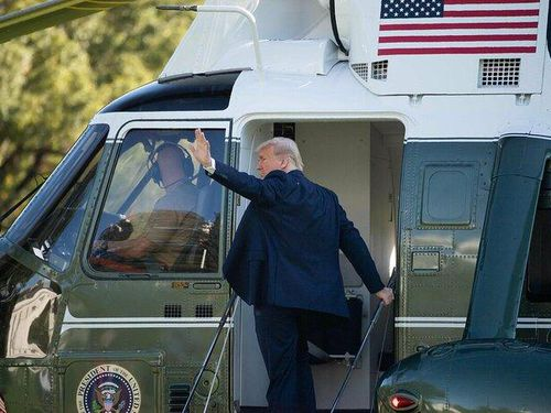 Hé lộ thời điểm ông Trump rời Washington