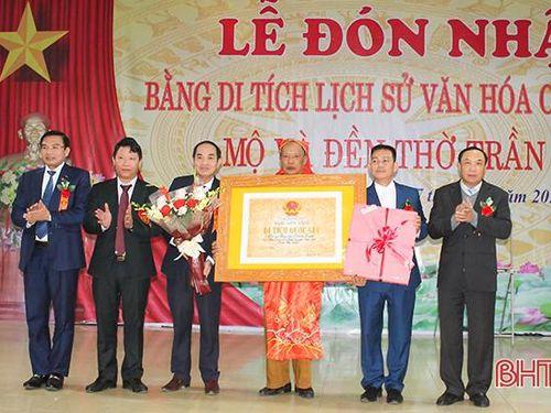 Đền thờ Trần Tịnh ở xã Kim Song Trường đón bằng di tích cấp quốc gia