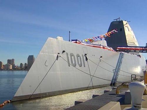 Chuyên gia Pháp 'chê tơi tả' tàu khu trục Zumwalt của Hải quân Mỹ