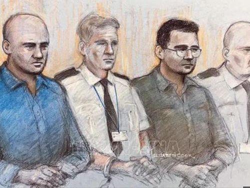 Tuyên án các bị cáo tổng cộng 78 năm tù vụ 39 thi thể trong xe tải ở Anh
