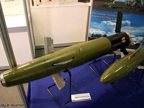 Nga thử nghiệm đạn pháo dẫn đường từng 'thử lửa' tại chiến trường Syria