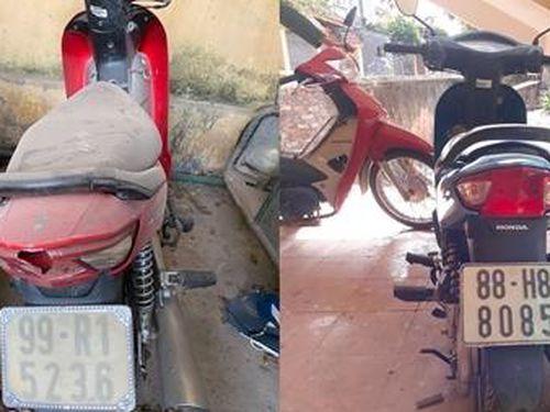 Công an Hà Nội tìm chủ sở hữu xe máy
