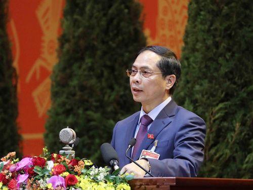 Tham luận của Ban cán sự Đảng Bộ Ngoại giao tại Đại hội