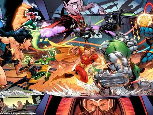Marvel thay thế Avengers bằng 'Justice League' trong sự kiện mới