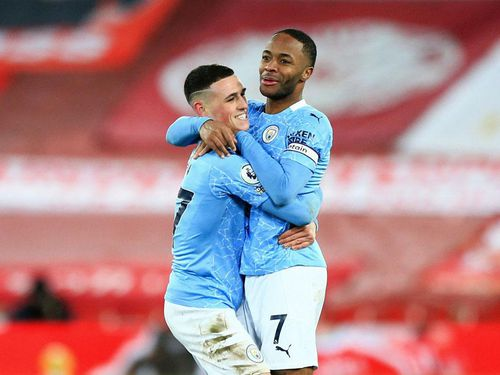 Đội hình tiêu biểu vòng 23 Premier League: Man City chiếm số đông