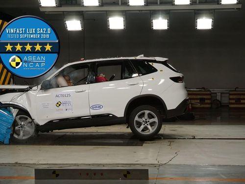 VinFast nhận giải thưởng ASEAN NCAP 2020