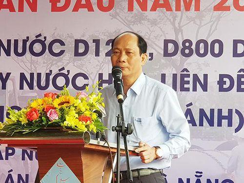 Chủ tịch TP Đà Nẵng tham dự lễ ra quân khởi công tuyến ống cấp nước trọng điểm