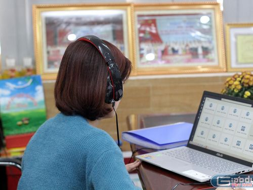 Học sinh nghỉ học, các trường ở Hải Phòng nhanh chóng dạy học trực tuyến