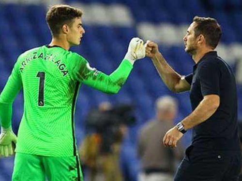Kepa thổ lộ về mối quan hệ với cựu HLV Lampard